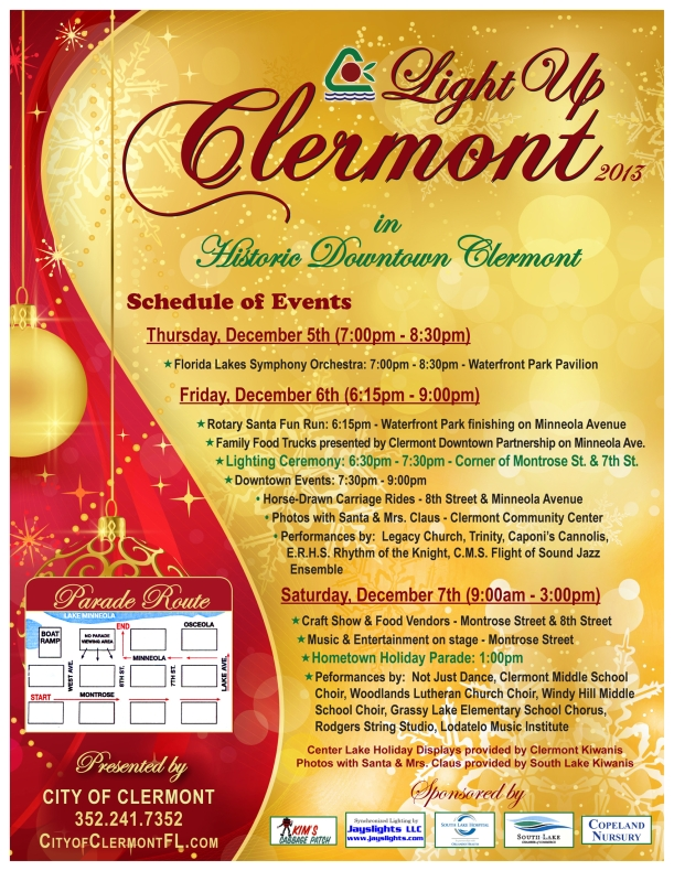 Light Up Clermont 2013